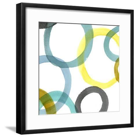 Non-Embellished Round and Round II--Framed Art Print