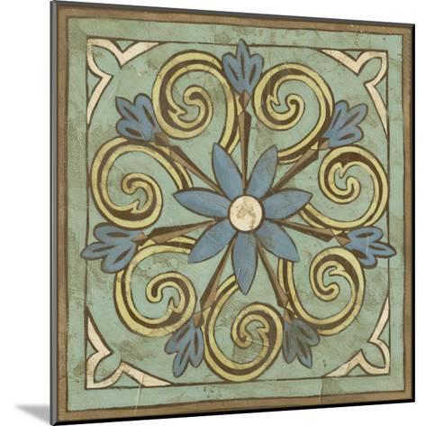 Non-Embellished Ornamental Tile III--Mounted Art Print