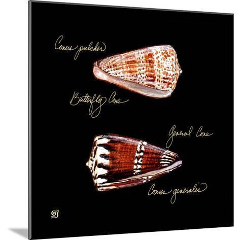 Striking Shells III-Ginny Joyner-Mounted Art Print