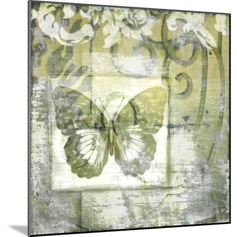 Non-Embld. Butterfly & Ironwork IV-Jennifer Goldberger-Mounted Art Print