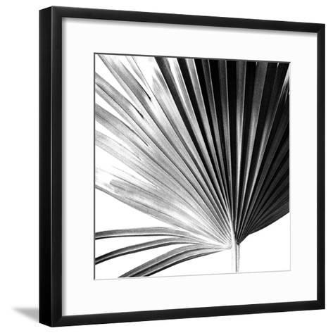 Black and White Palms IV-Jason Johnson-Framed Art Print