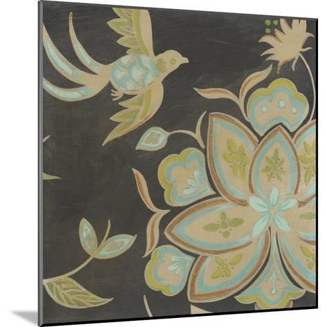 Heirloom Floral III-Erica J^ Vess-Mounted Art Print