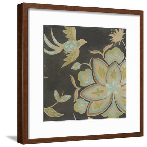 Heirloom Floral III-Erica J^ Vess-Framed Art Print