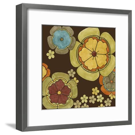 Vibrant Sari II-Erica J^ Vess-Framed Art Print