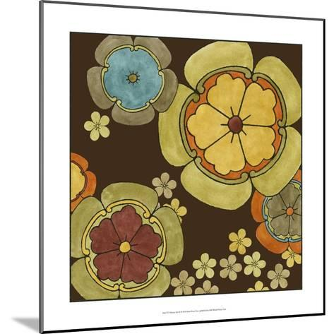 Vibrant Sari II-Erica J^ Vess-Mounted Art Print