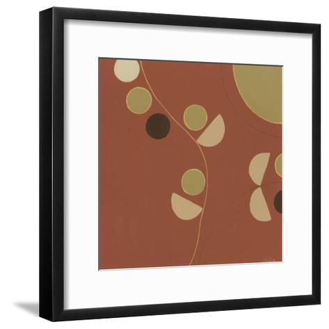 Autumn Orbit V-Erica J^ Vess-Framed Art Print