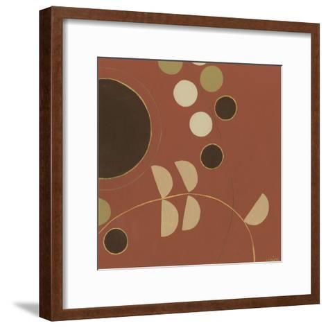 Autumn Orbit VI-Erica J^ Vess-Framed Art Print