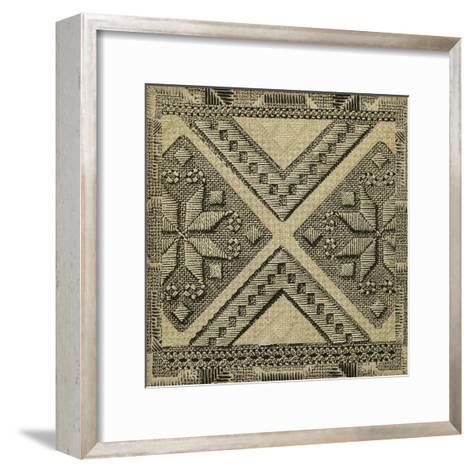 Kuba Detail II--Framed Art Print