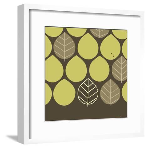Forest Motif I-Erica J^ Vess-Framed Art Print
