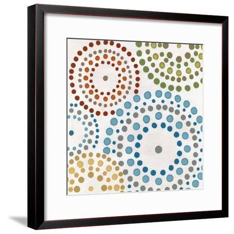 Mosaic Mandalas I-Erica J^ Vess-Framed Art Print