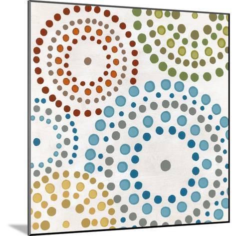 Mosaic Mandalas I-Erica J^ Vess-Mounted Art Print