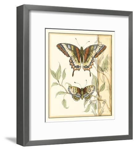 Tandem Butterflies II-Jennifer Goldberger-Framed Art Print