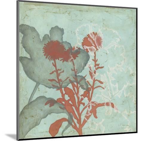 Trois Fleur I-Megan Meagher-Mounted Art Print