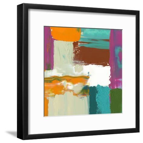 Neon City III-Jennifer Goldberger-Framed Art Print