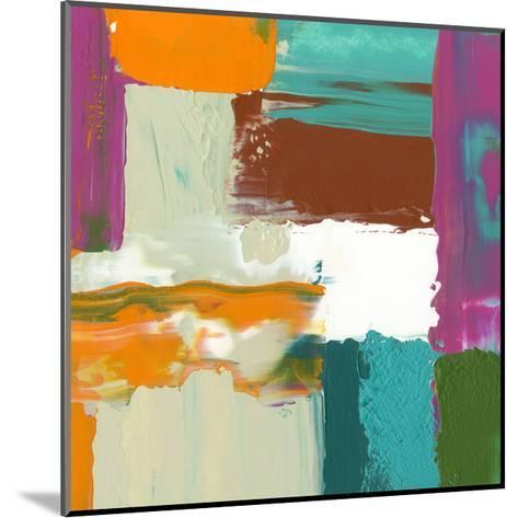 Neon City III-Jennifer Goldberger-Mounted Art Print