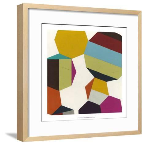 Poly-Rhythmic III-Erica J^ Vess-Framed Art Print