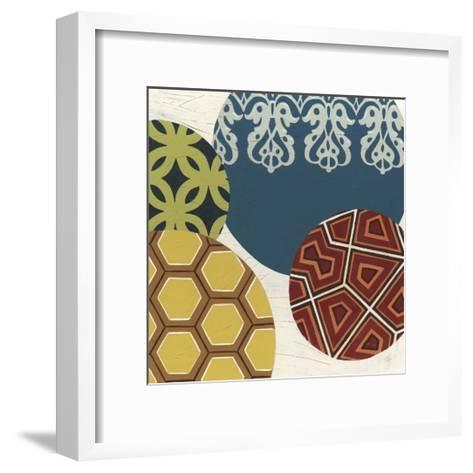 Paper Lanterns III-Erica J^ Vess-Framed Art Print