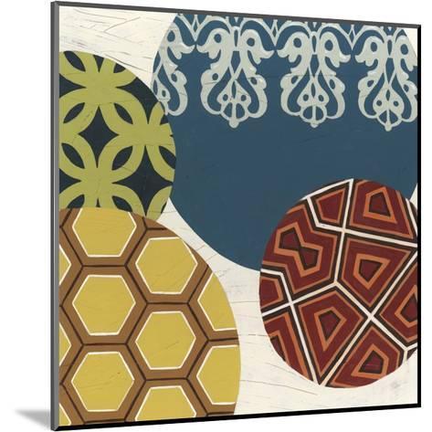 Paper Lanterns III-Erica J^ Vess-Mounted Art Print