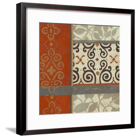 Mandarin Scroll I-June Erica Vess-Framed Art Print