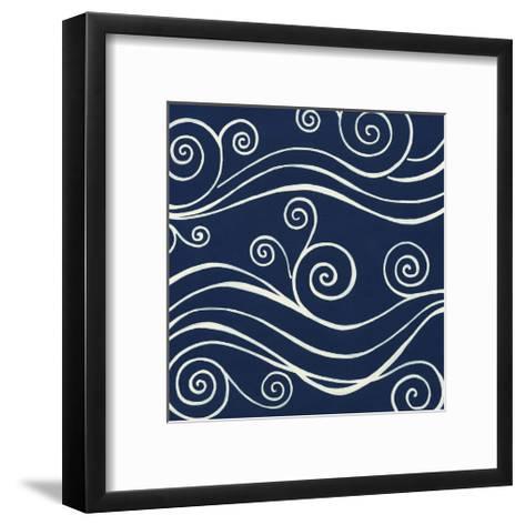 Ocean Motifs II-Erica J^ Vess-Framed Art Print