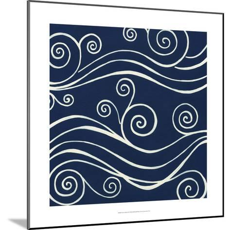 Ocean Motifs II-Erica J^ Vess-Mounted Art Print