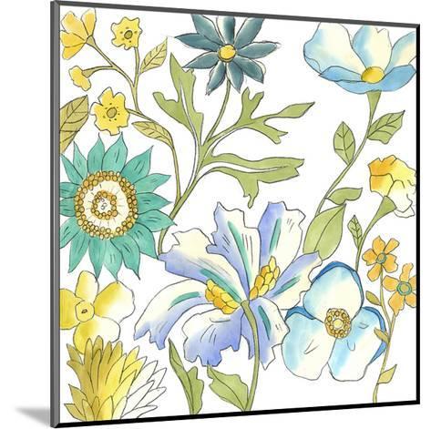 Bouquet Garden III-Chariklia Zarris-Mounted Art Print