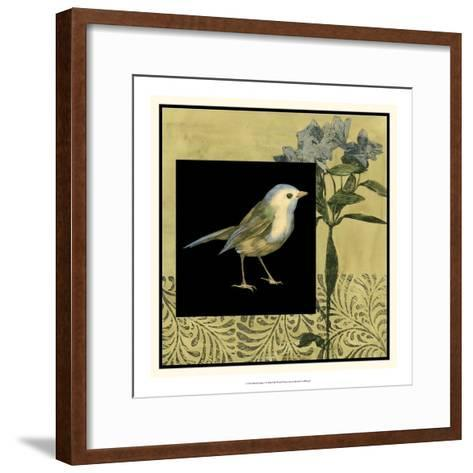 Bird Fantasy I-Jennifer Goldberger-Framed Art Print