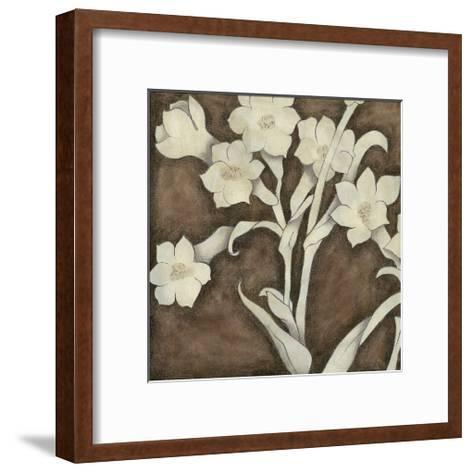 Floral Quartet III-Megan Meagher-Framed Art Print
