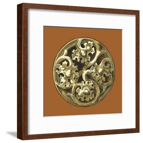 Graphic Medallion IV-Vision Studio-Framed Art Print