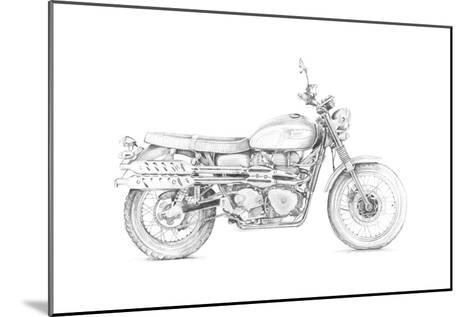 Motorcycle Sketch III-Megan Meagher-Mounted Art Print