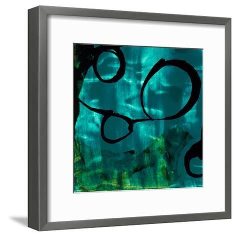 Turquoise Element II-Sisa Jasper-Framed Art Print