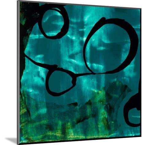 Turquoise Element II-Sisa Jasper-Mounted Art Print