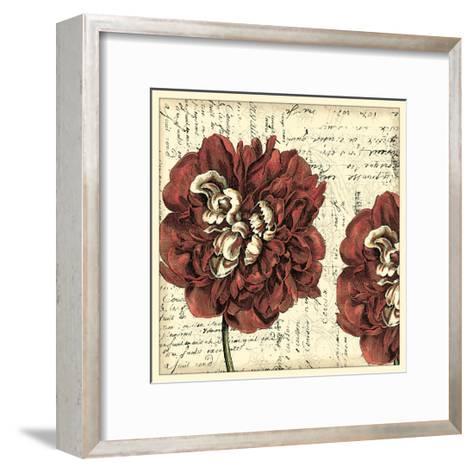Vintage Composition I-Vision Studio-Framed Art Print