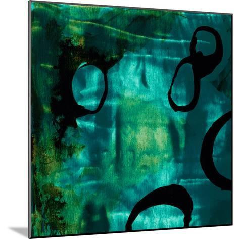 Turquoise Element I-Sisa Jasper-Mounted Art Print