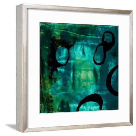 Turquoise Element I-Sisa Jasper-Framed Art Print