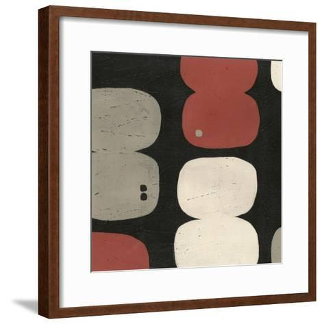 Figure Eight II-Erica J^ Vess-Framed Art Print
