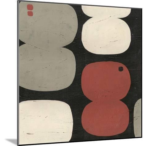 Figure Eight III-Erica J^ Vess-Mounted Art Print