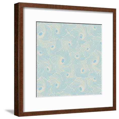 Spiral Motif IV-Vision Studio-Framed Art Print