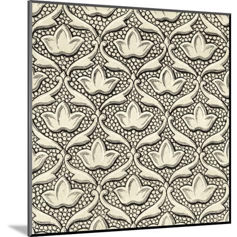 Ornamental Tile Motif IV-Vision Studio-Mounted Art Print
