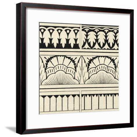 Ornamental Tile Motif VII-Vision Studio-Framed Art Print