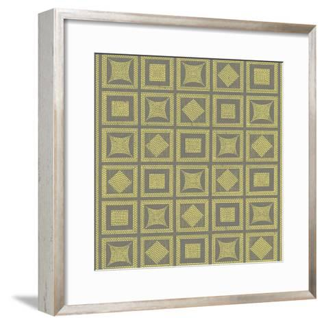 Graphic Pattern VI-Vision Studio-Framed Art Print