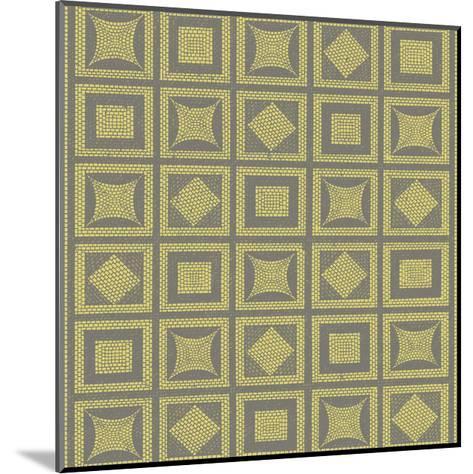 Graphic Pattern VI-Vision Studio-Mounted Art Print