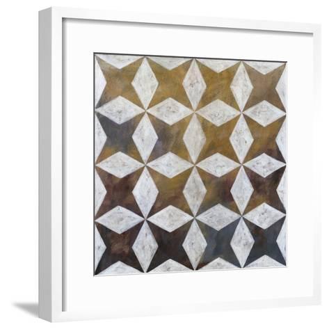 Royal Pattern I-Megan Meagher-Framed Art Print