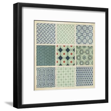 Pattern Patch II-Vision Studio-Framed Art Print