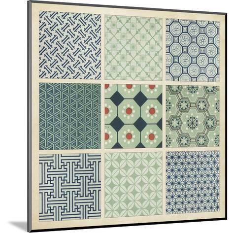 Pattern Patch II-Vision Studio-Mounted Art Print