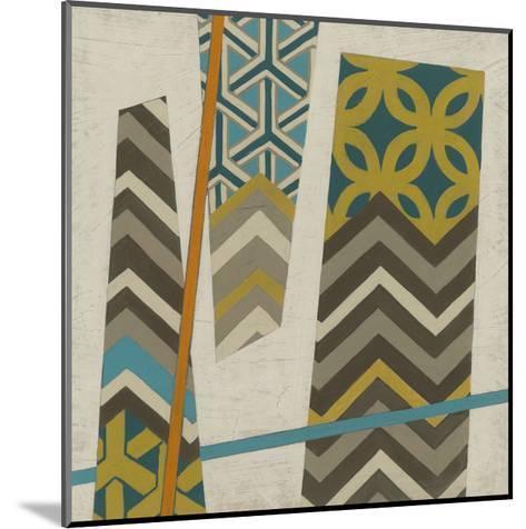 Abstract Scrapbook II-Erica J^ Vess-Mounted Art Print