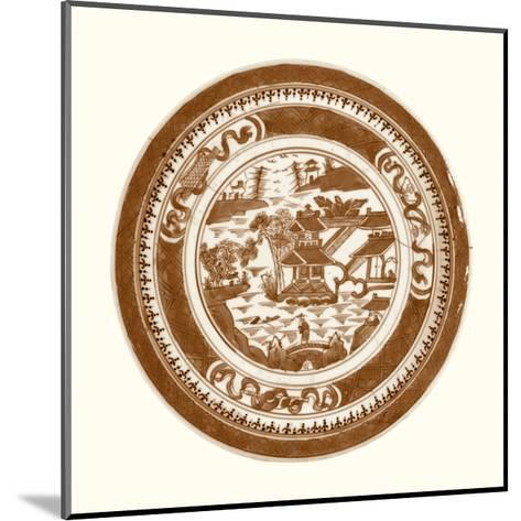 Pagoda Earthenware II-Vision Studio-Mounted Art Print
