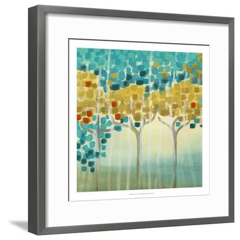 Forest Mosaic I-Erica J^ Vess-Framed Art Print
