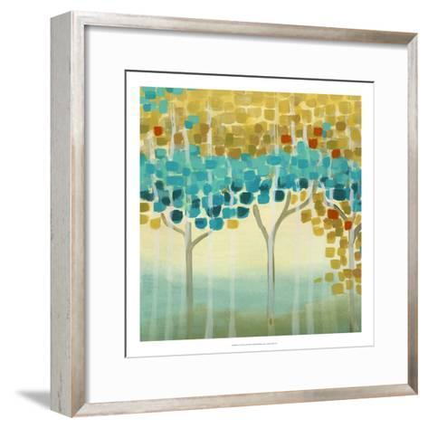 Forest Mosaic II-Erica J^ Vess-Framed Art Print