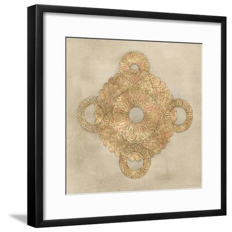 Solar Medallion I-Vanna Lam-Framed Art Print
